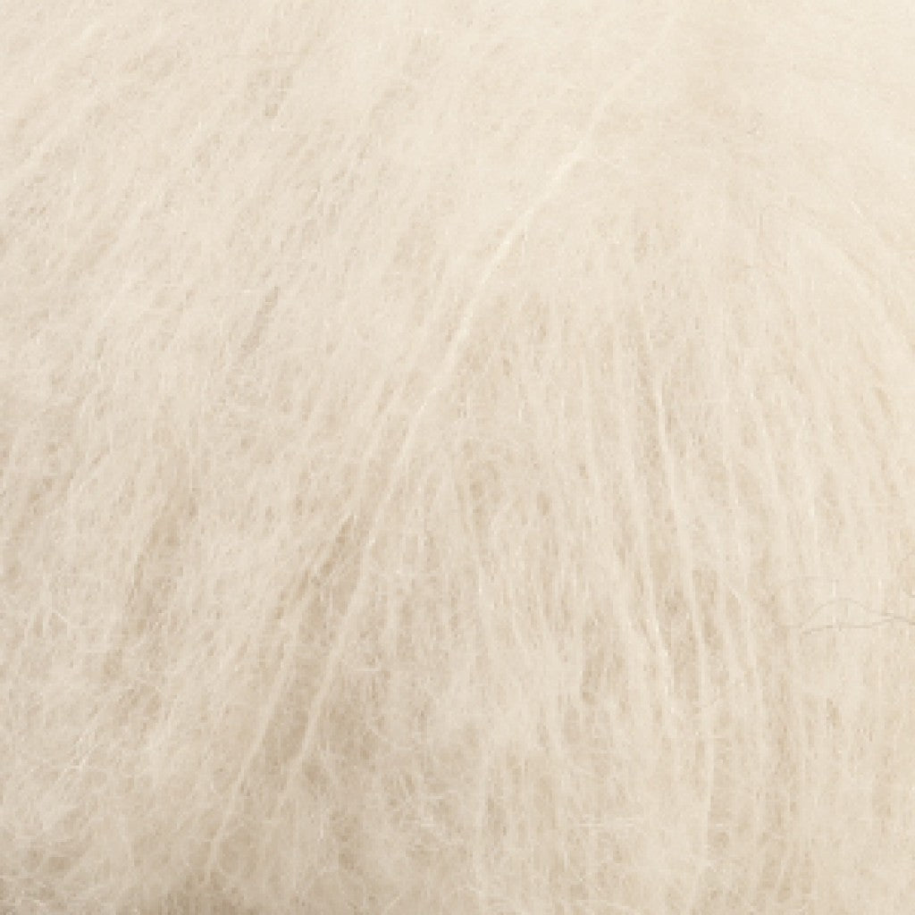 Brushed Alpaca Silk Uni - 1 Natur