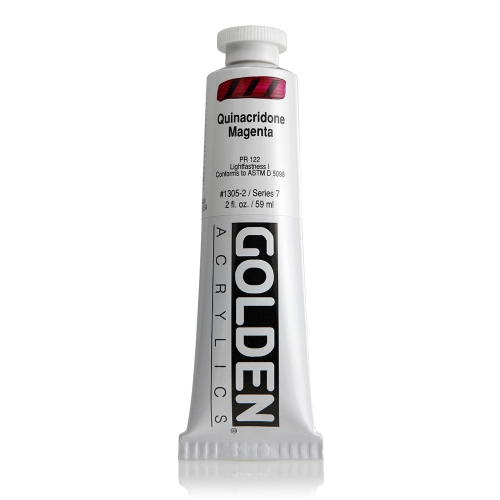 Golden Heavy Body 59ml - 1305-2 - Quinacridone Magenta