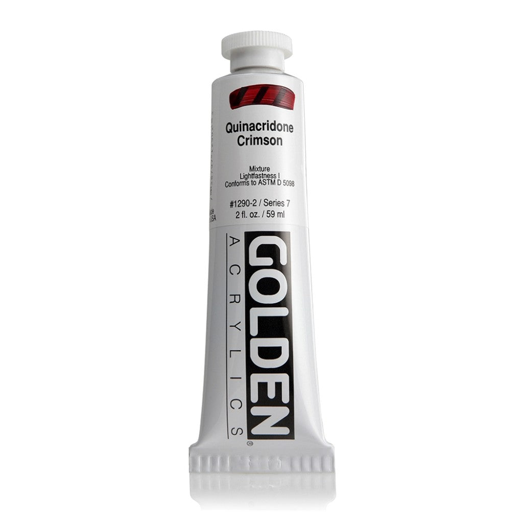 Golden Heavy Body 59ml - 1290-2 - Quinacridone Crimson