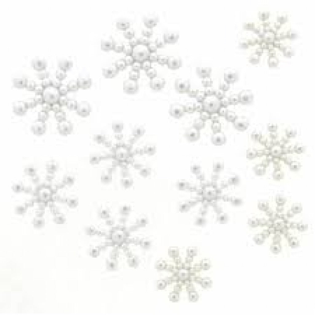 "Knapper ""Dress It Up"" - Pearl Snowflakes"