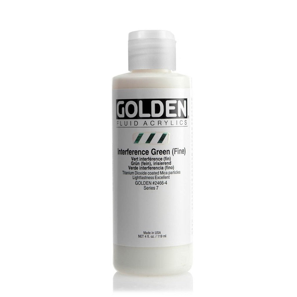 Golden Fluid 118ml - Interference Green (Fine)