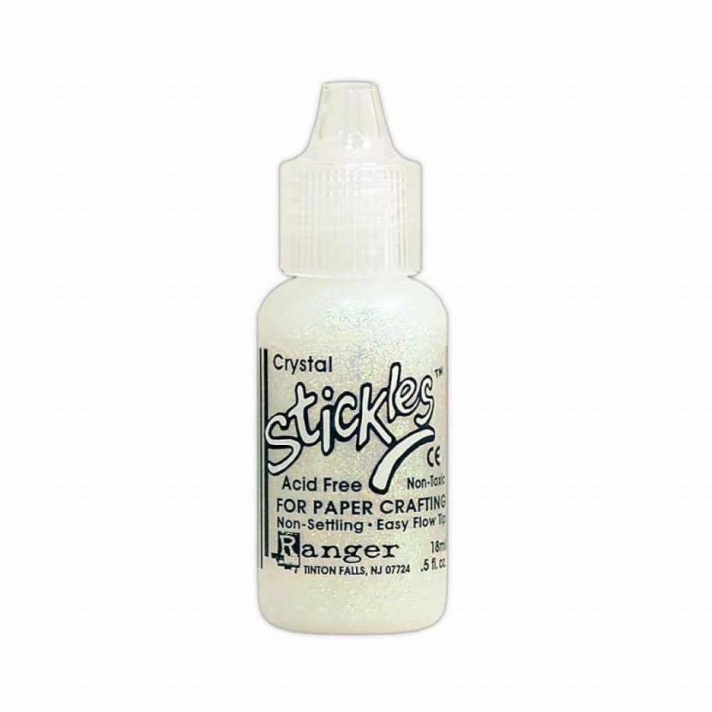 Stickles Glitter Glue .5oz-Crystal