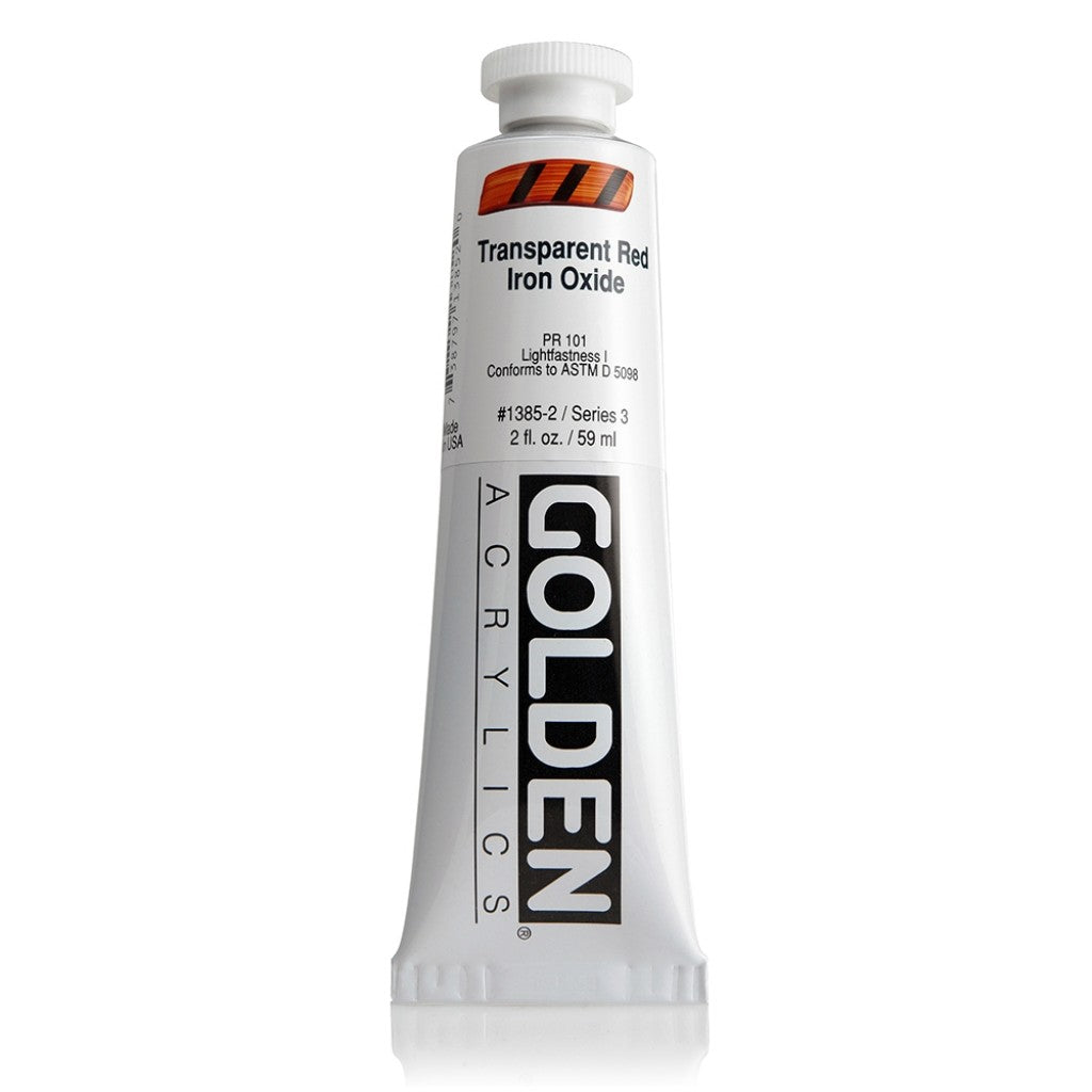 Golden Heavy Body 59ml - 1385-2 - Transparent Red Iron Oxide