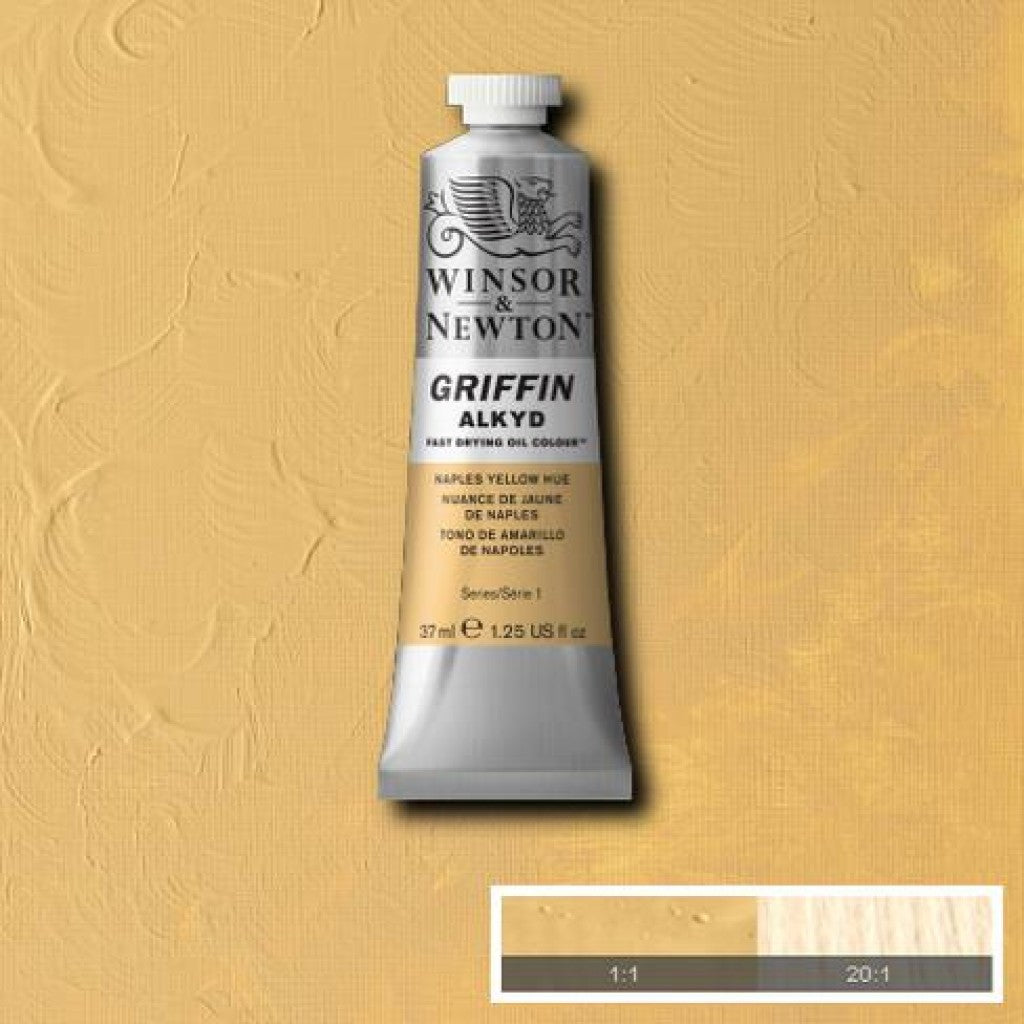 W&N Griffin Alkyd - 422 Naples Yellow Hue 37ml