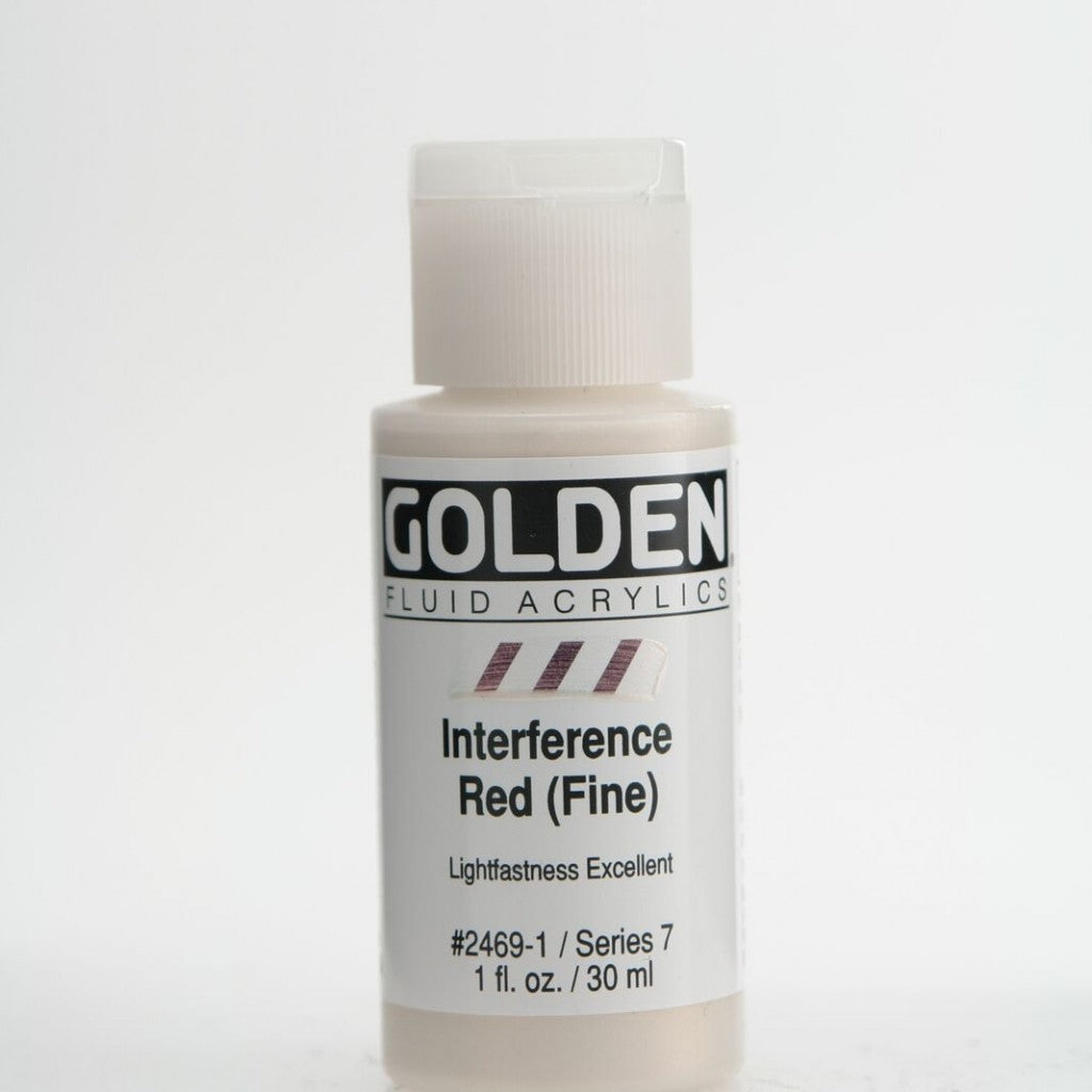 Golden Fluid 30ml - Interference Red (Fine)
