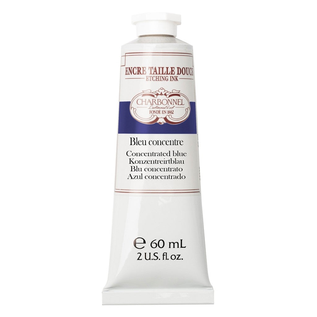 Charbonnel Etching Ink - Concentrated blue 60ml.