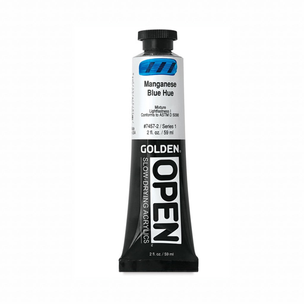 Golden Open 59ml -  Manganese Blue Hue