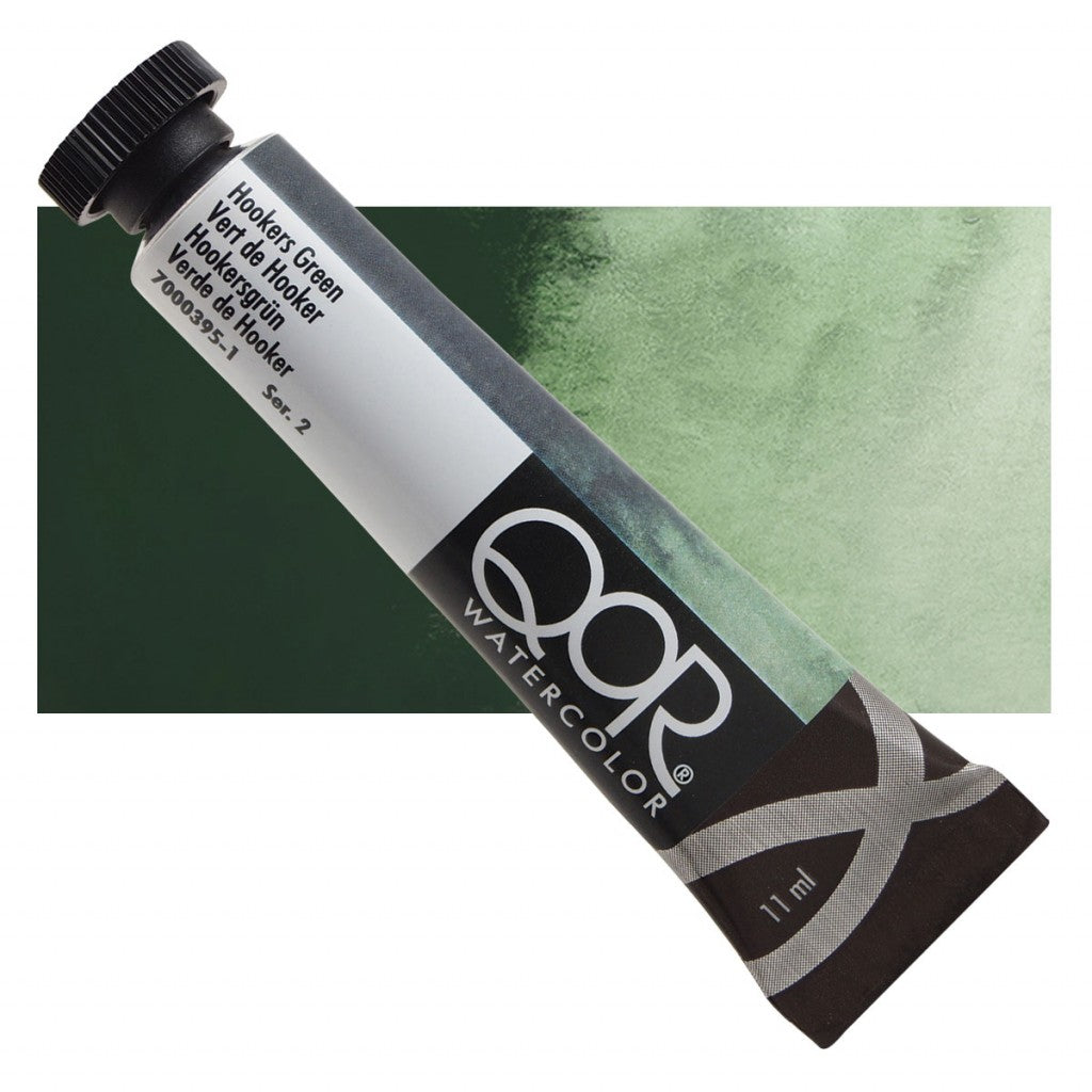 QOR akvarell 11ml Hookers Green 03951