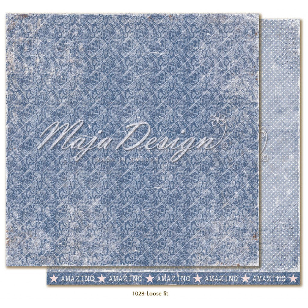 "Maja Design - Denim & Girls - Loose Fit 12""x12"""