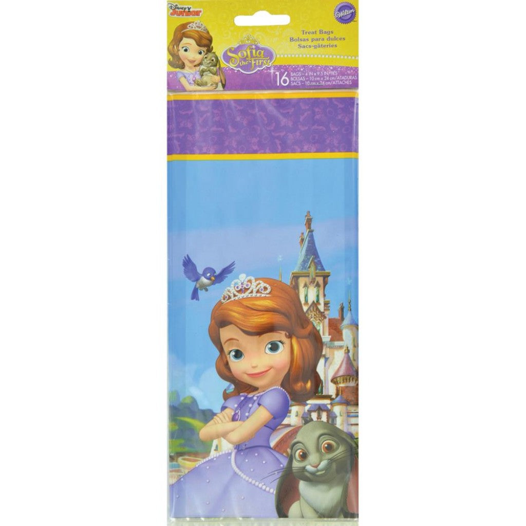 Treat Bags-Sofia The First 16/Pkg