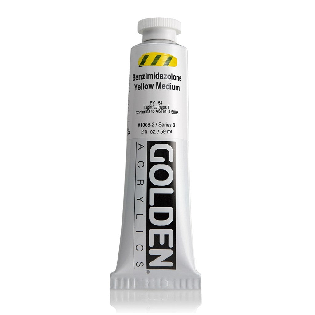 Golden Heavy Body 59ml 1008-2 - Benzimidazolone Yellow Medium
