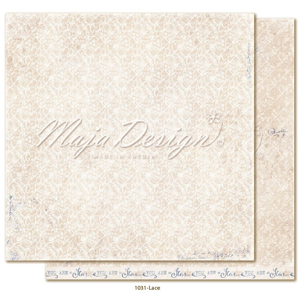 "Maja Design - Denim & Girls - Lace 12""x12"""