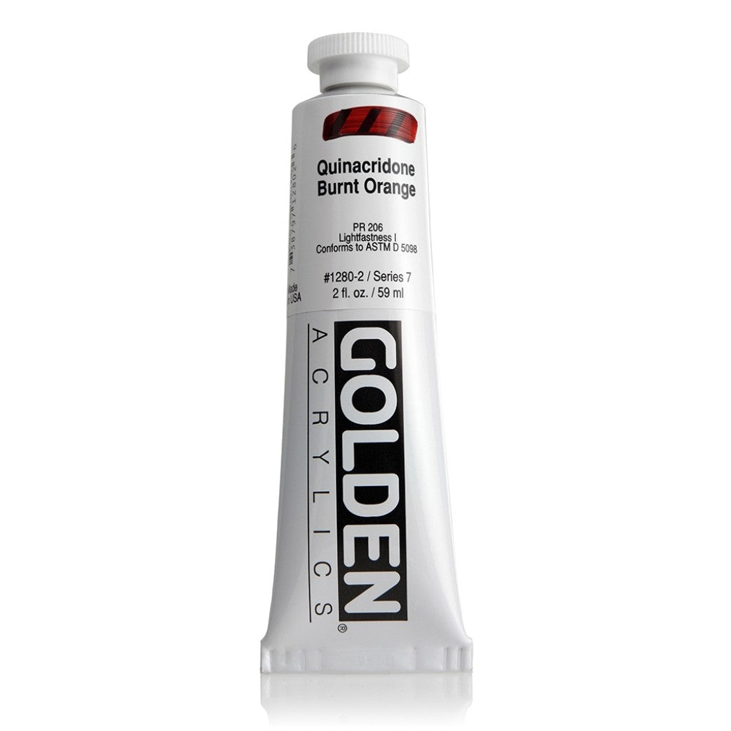 Golden Heavy Body 59ml - 1280-2 - Quinacridone Burnt Orange