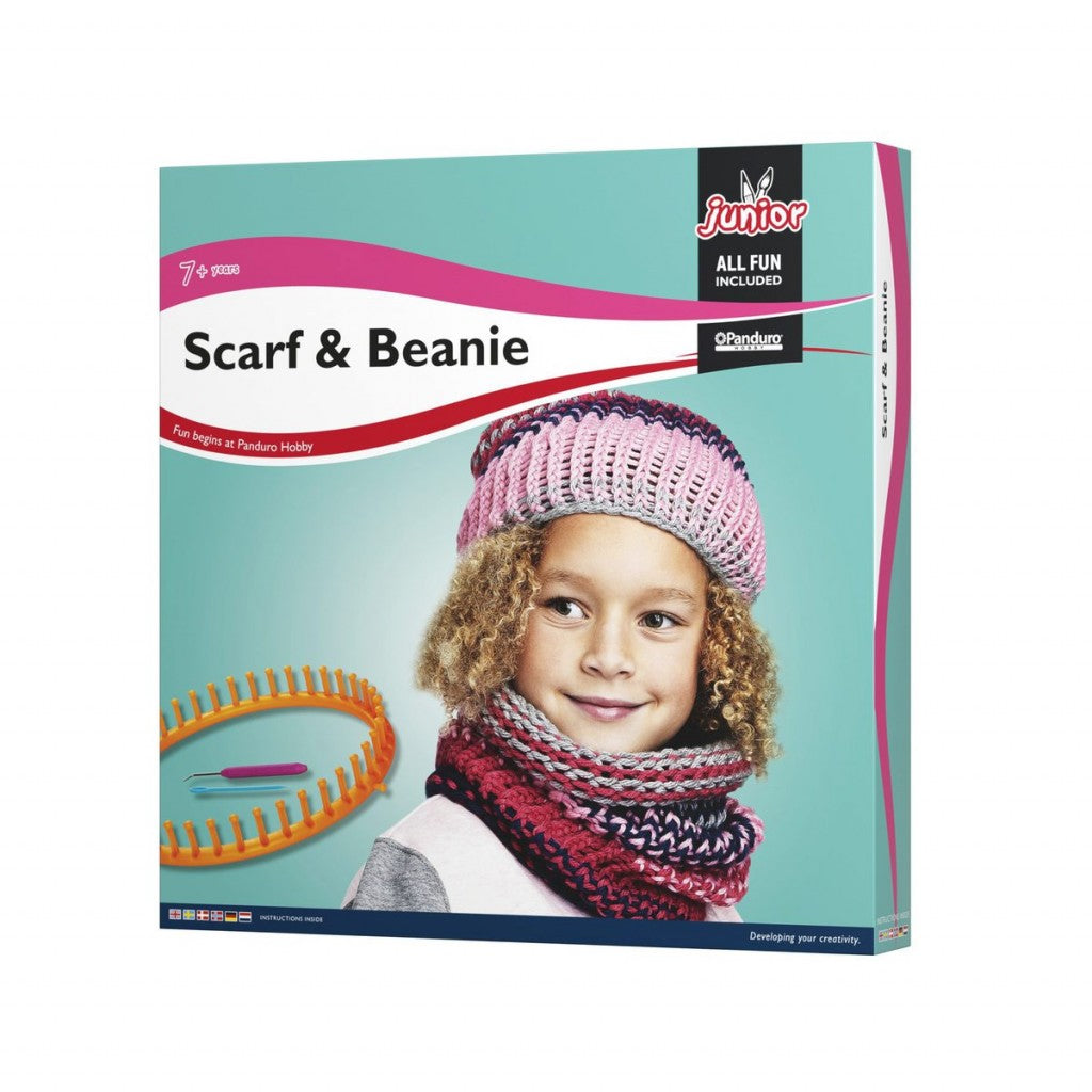 Scarf & Beanie kit Quick knit