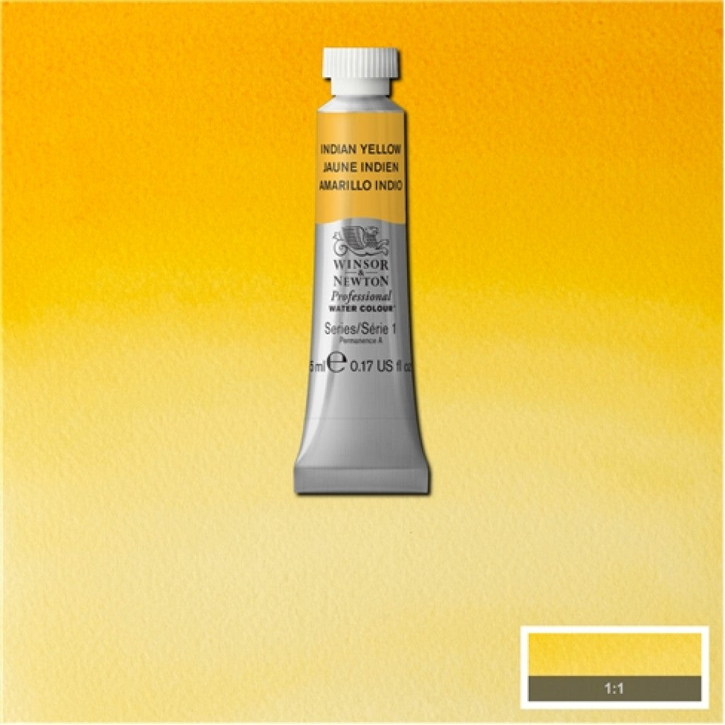 W&N Akvarell Artists 5ml tube - 319 Indian yellow