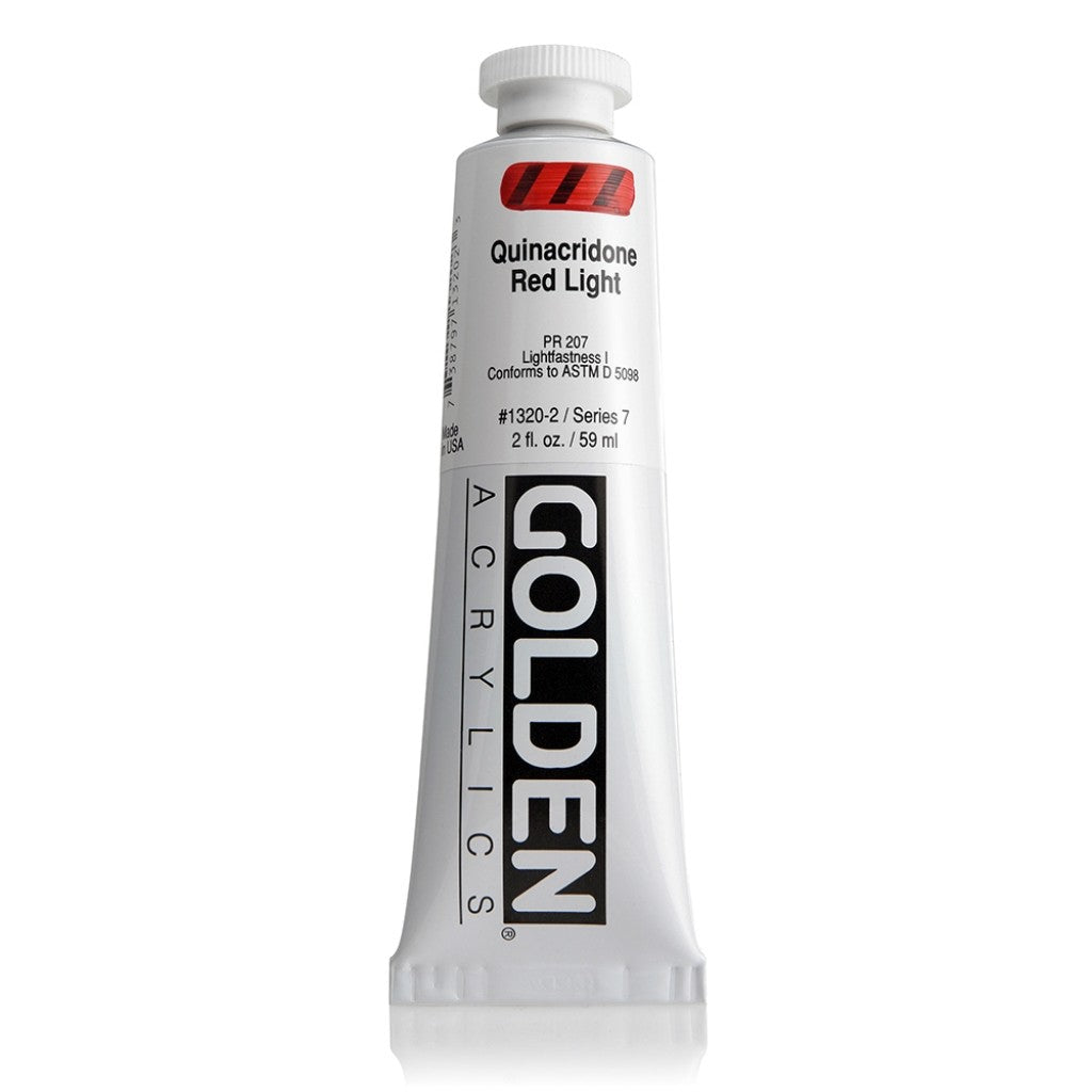 Golden Heavy Body 59ml - 1320-2 - Quinacridone Red Light