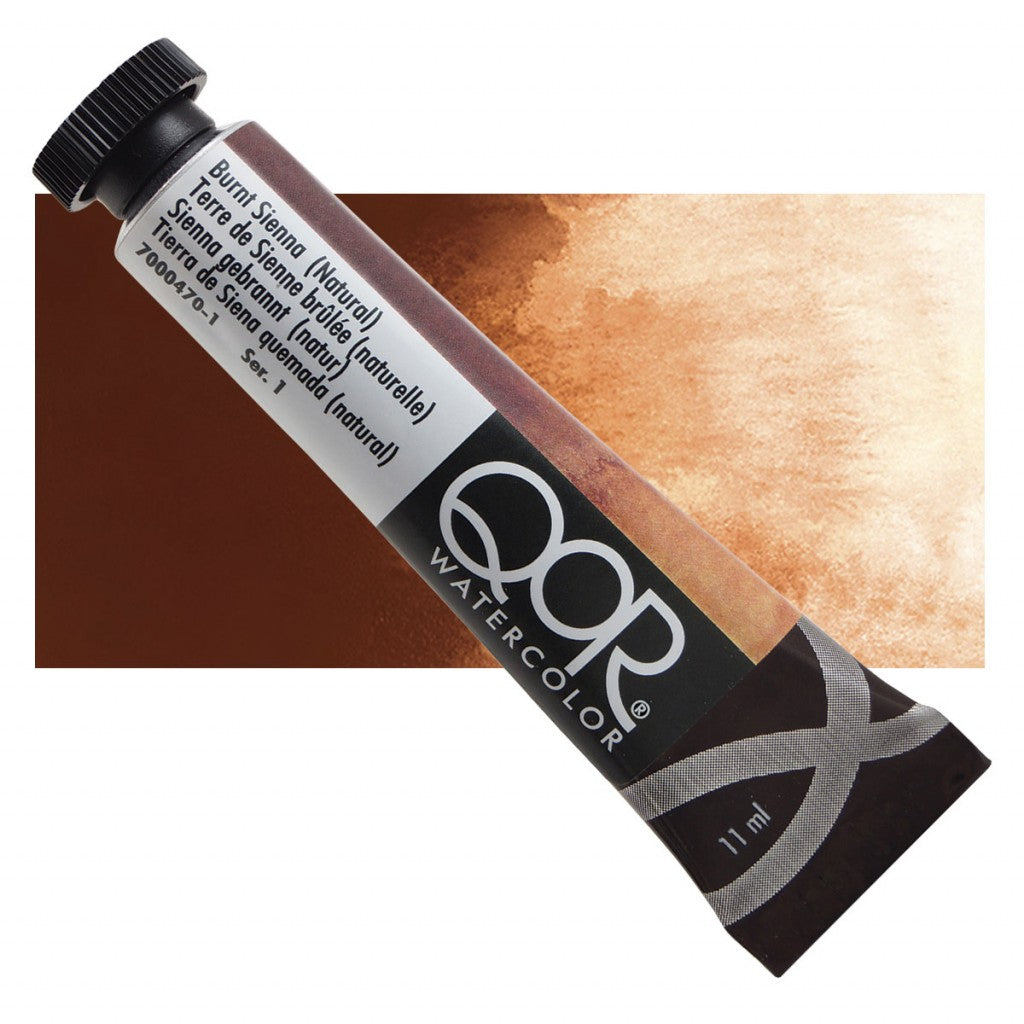 QOR akvarell 11ml Burnt Sienna (Natural) 04701