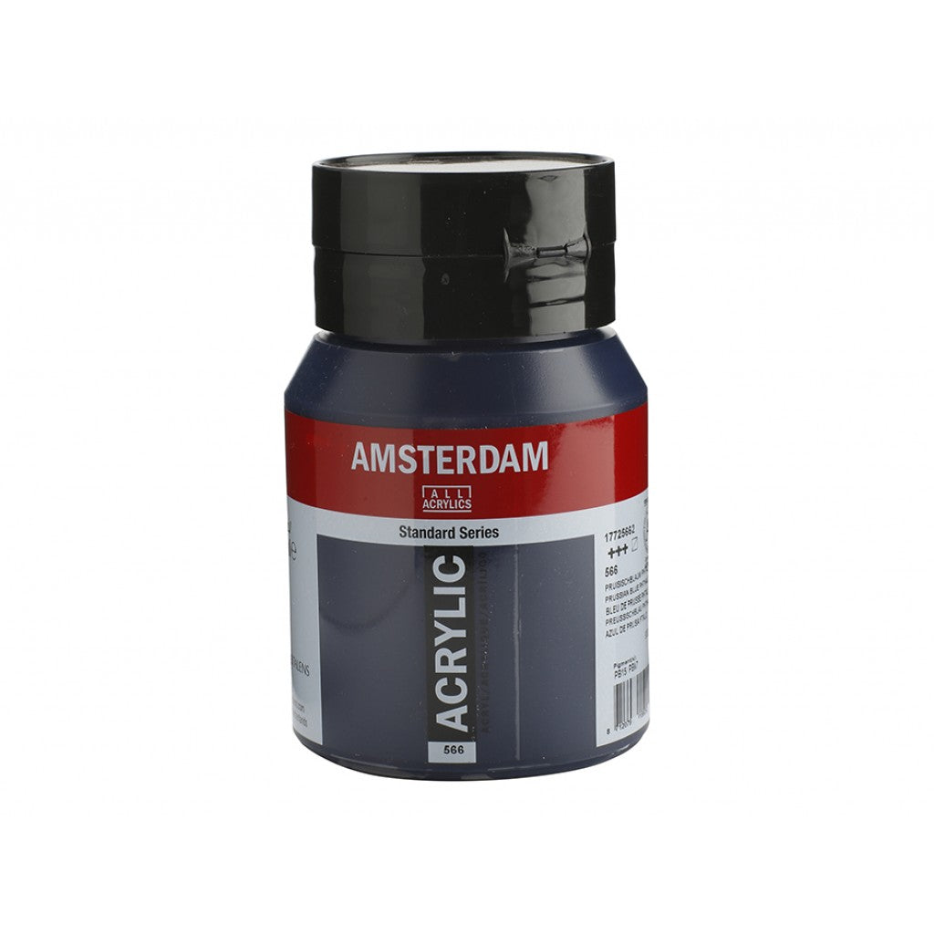 Amsterdam Standard 500ml - 566 prussian blue