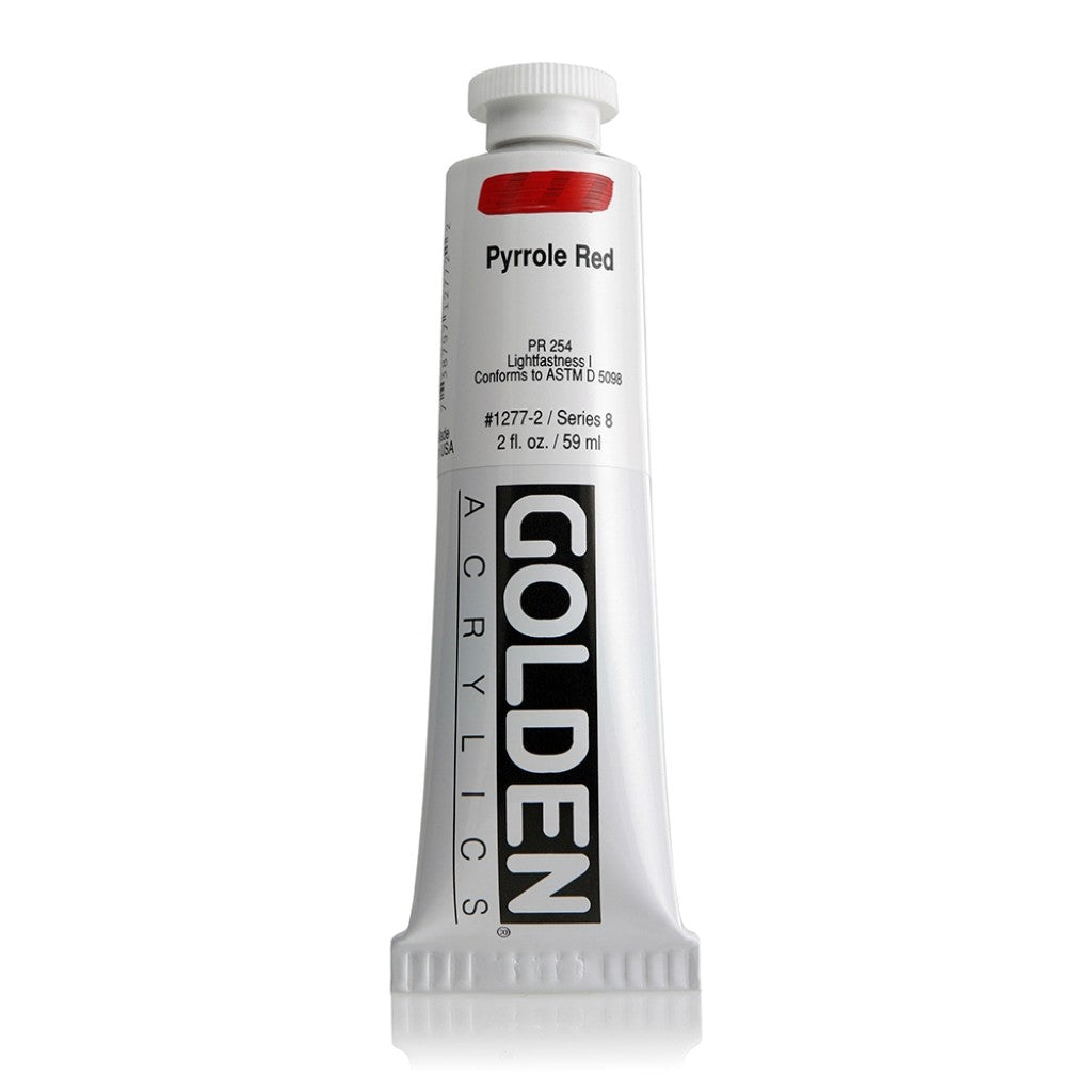 Golden Heavy Body 59ml - 1277-2 - Pyrrole Red