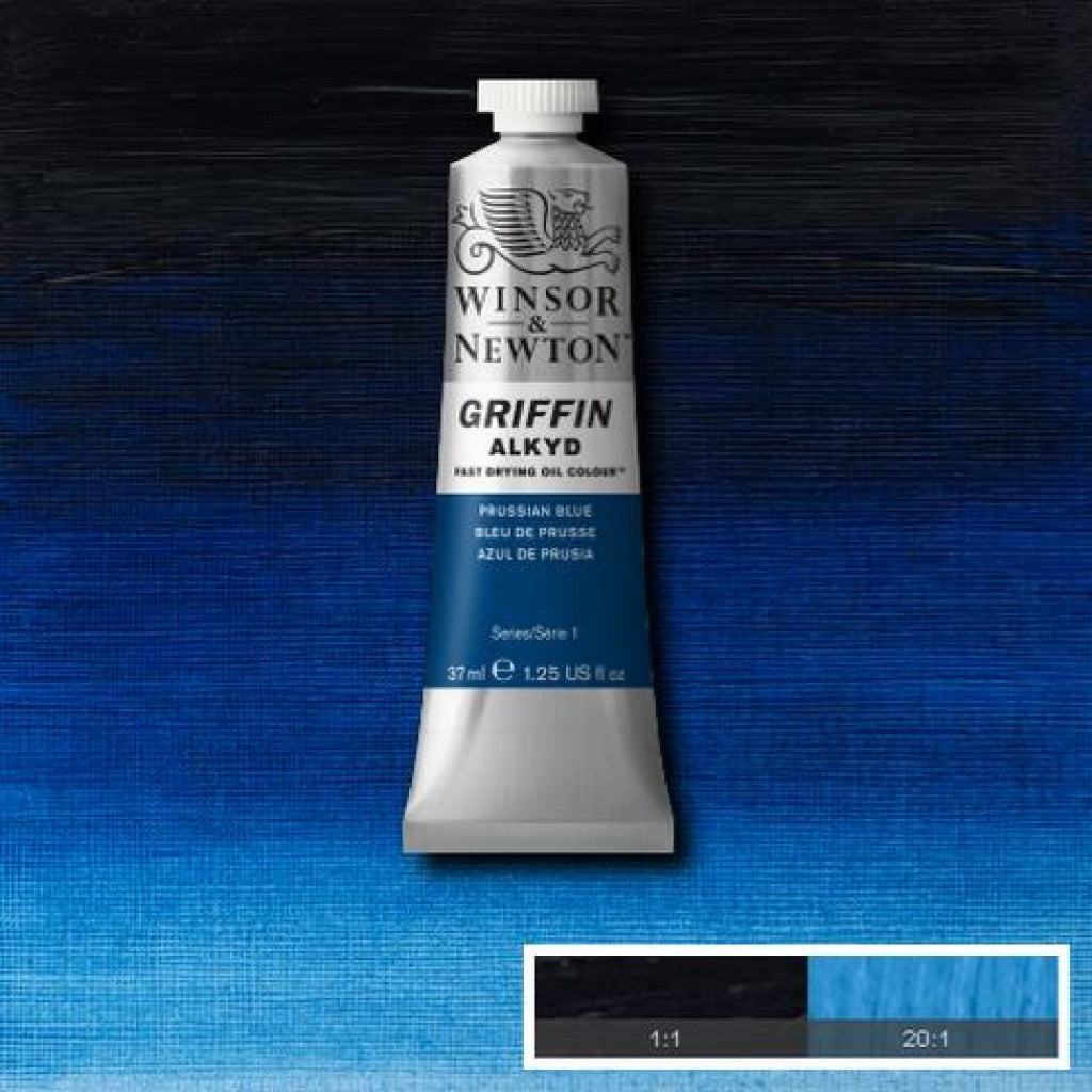 W&N Griffin Alkyd - 538 Prussian Blue 37ml