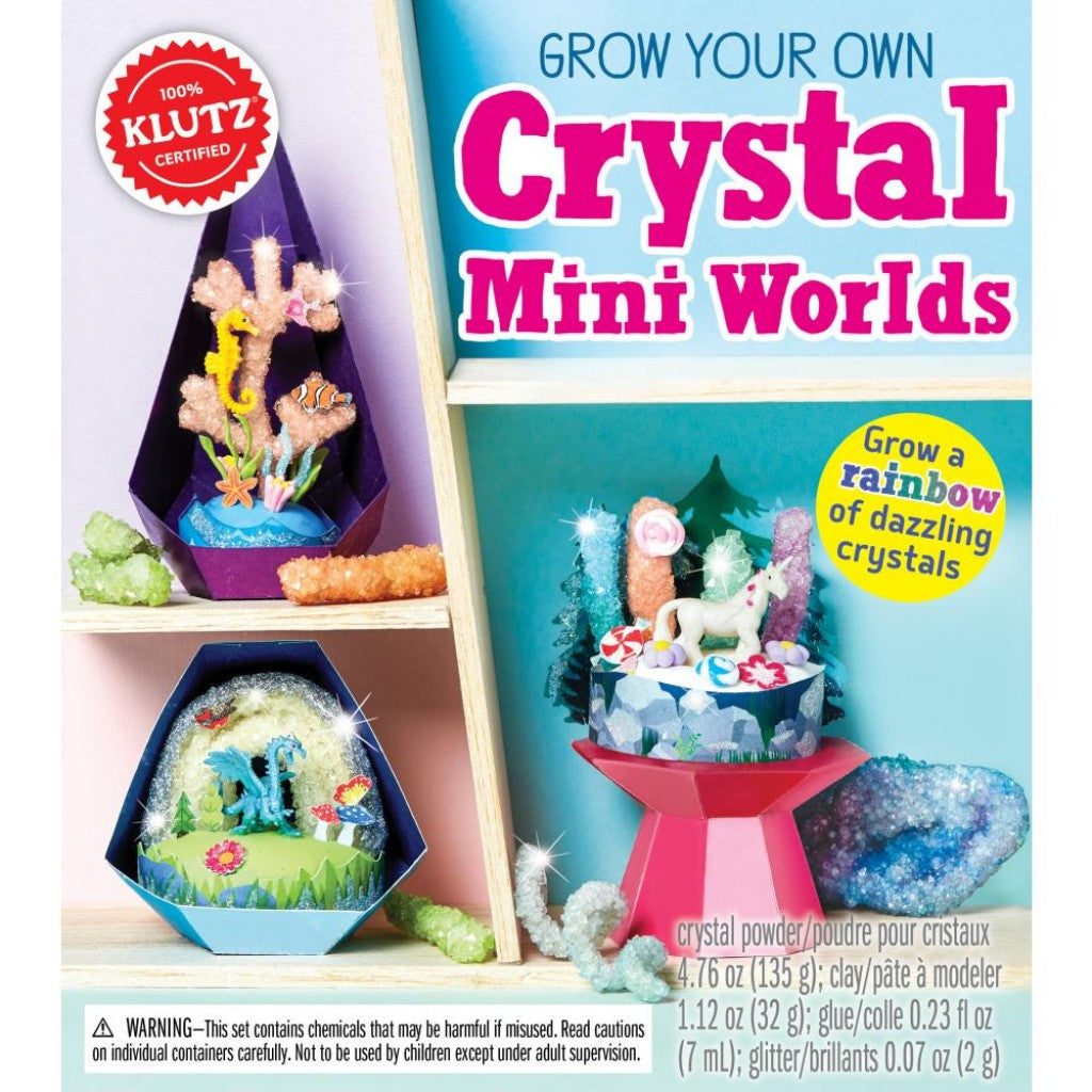 Grow Your Own Crystal  - DIY Kit