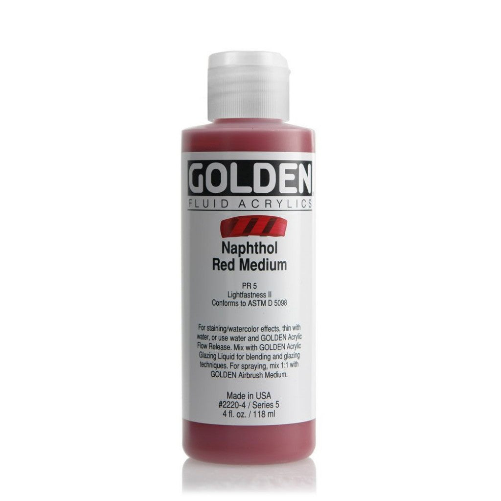 Golden Fluid 118ml - Naphthol Red Medium
