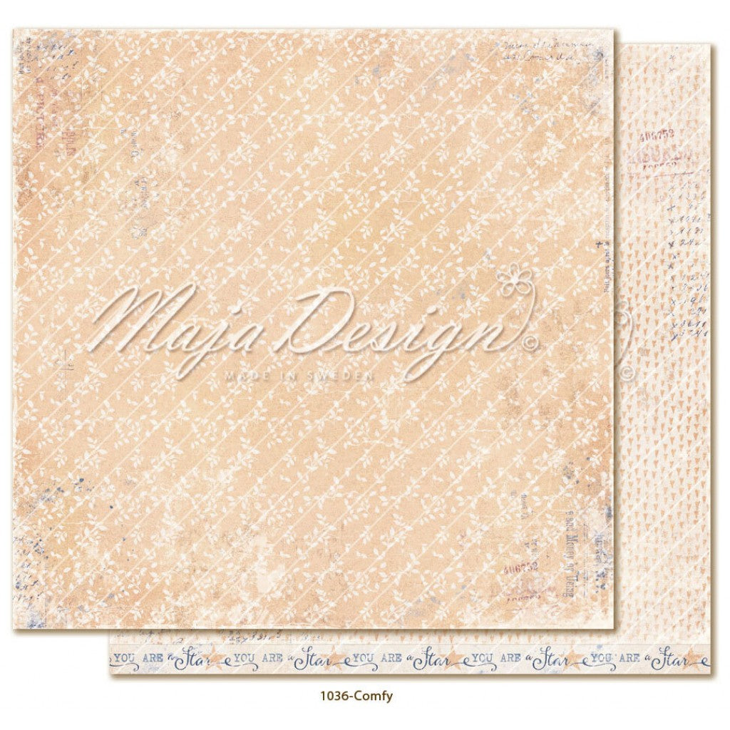 "Maja Design - Denim & Girls - Comfy 12""x12"""