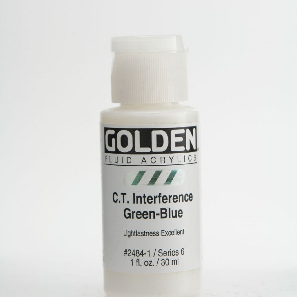 Golden Fluid 30ml - C.T. Interference Green-Blue