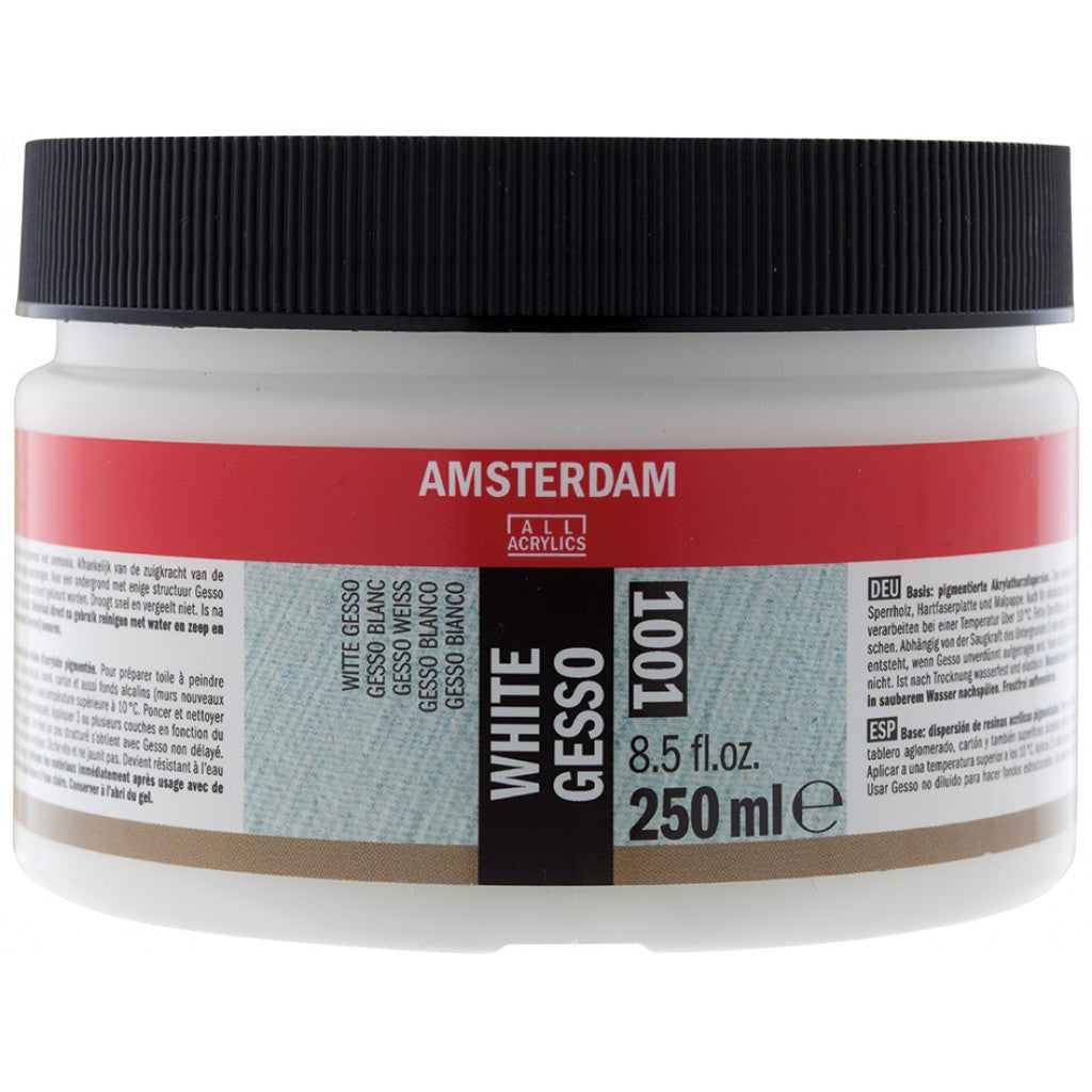 Amsterdam Gesso White 1001 - 250ml