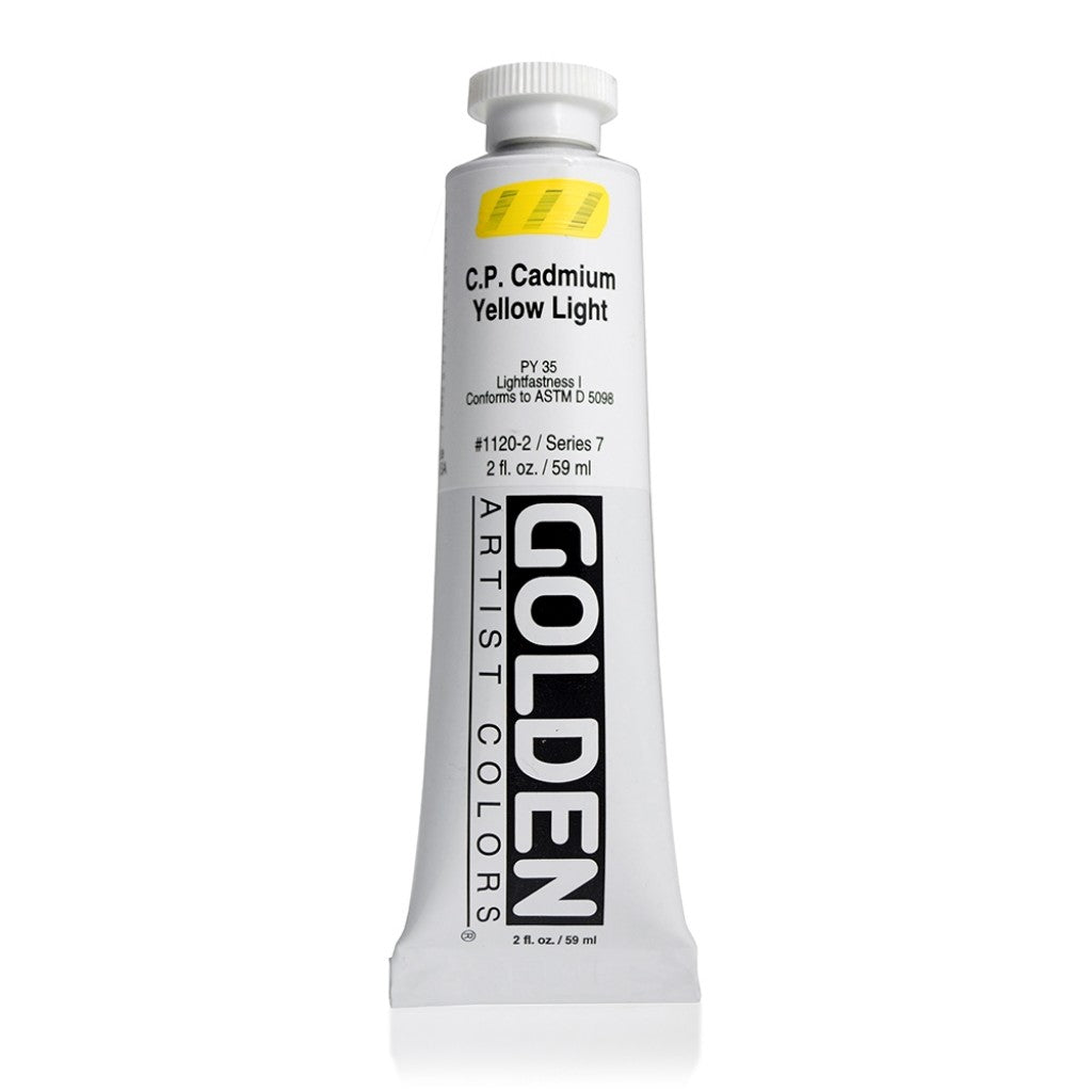 Golden Heavy Body 59ml - 1120-2 - C.P. Cadmium Yellow Light