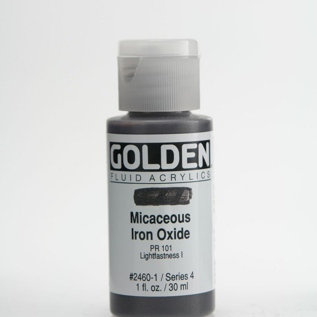 Golden Fluid 30ml - Micaceous Iron Oxide