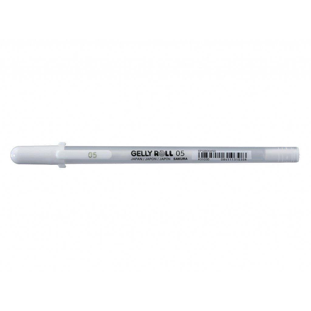 Sakura Gelly Roll Basic - 05 #50 Hvit