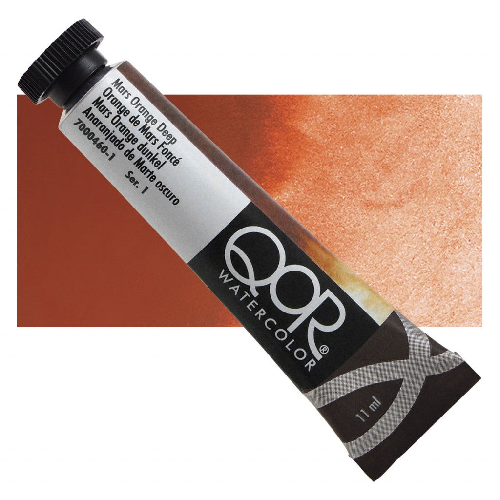 QOR akvarell 11ml Mars Orange Deep 04601