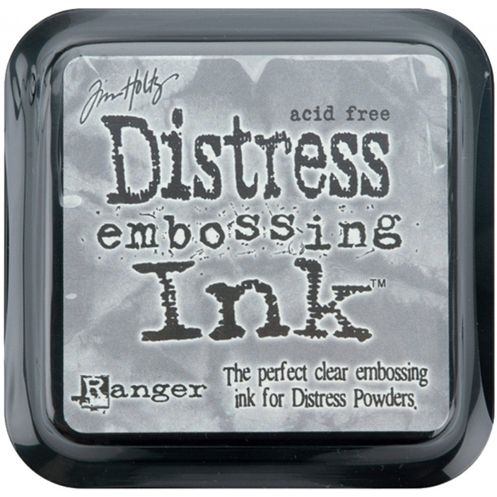 Stempelpute Tim Holtz Distress Ink - Clear For Embossing