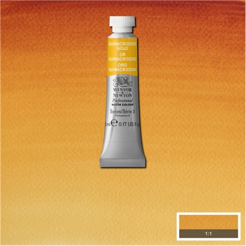 W&N Akvarell Artists 5ml tube - 547 Quinacridone gold