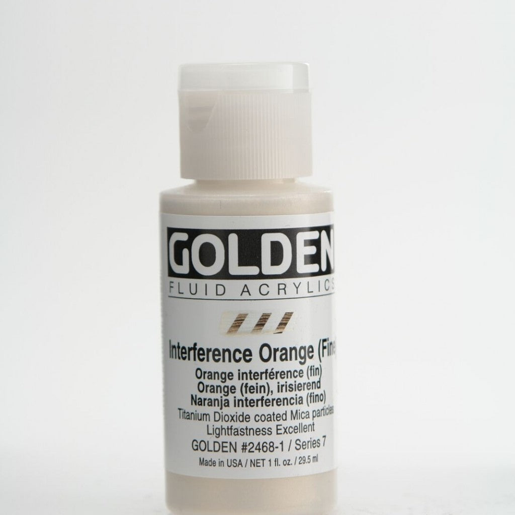 Golden Fluid 30ml - Iridescent Orange (Fine)