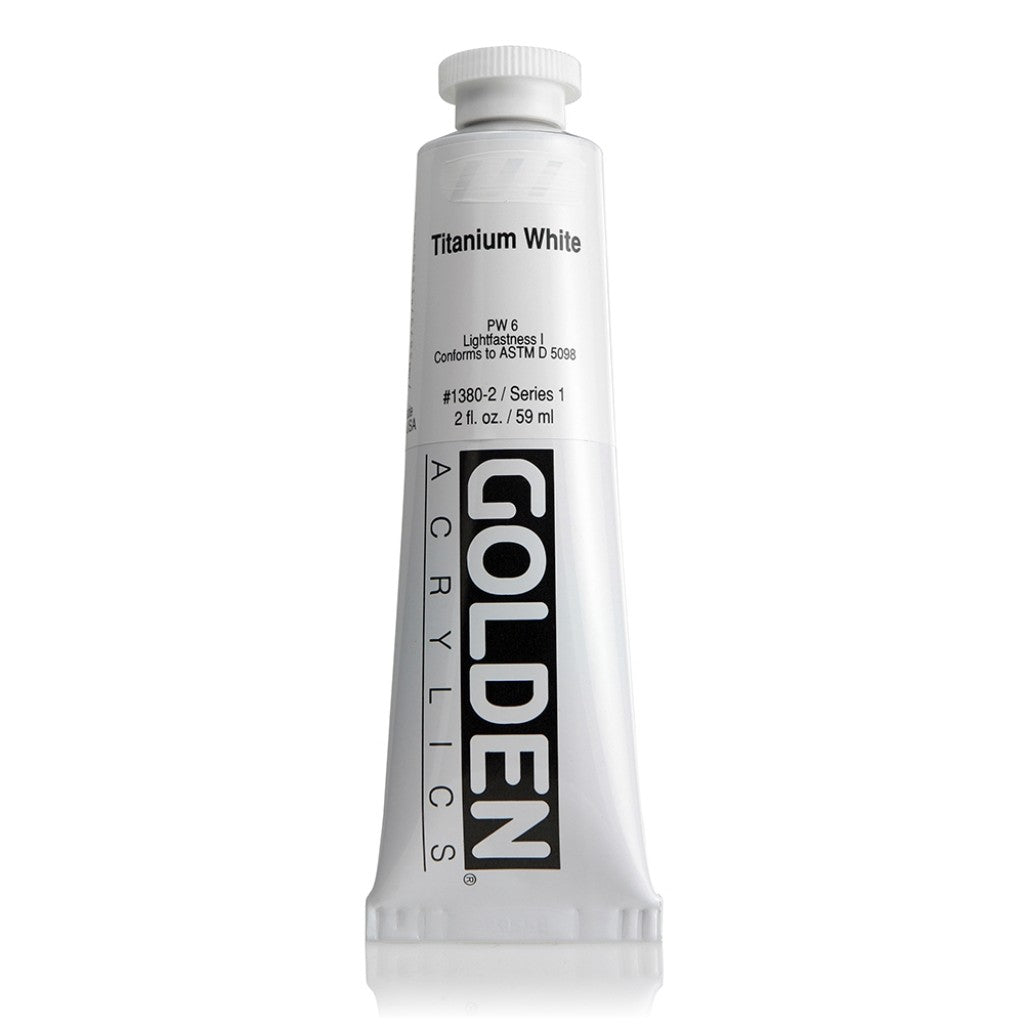 Golden Heavy Body 59ml - 1380-2 - Titanium White