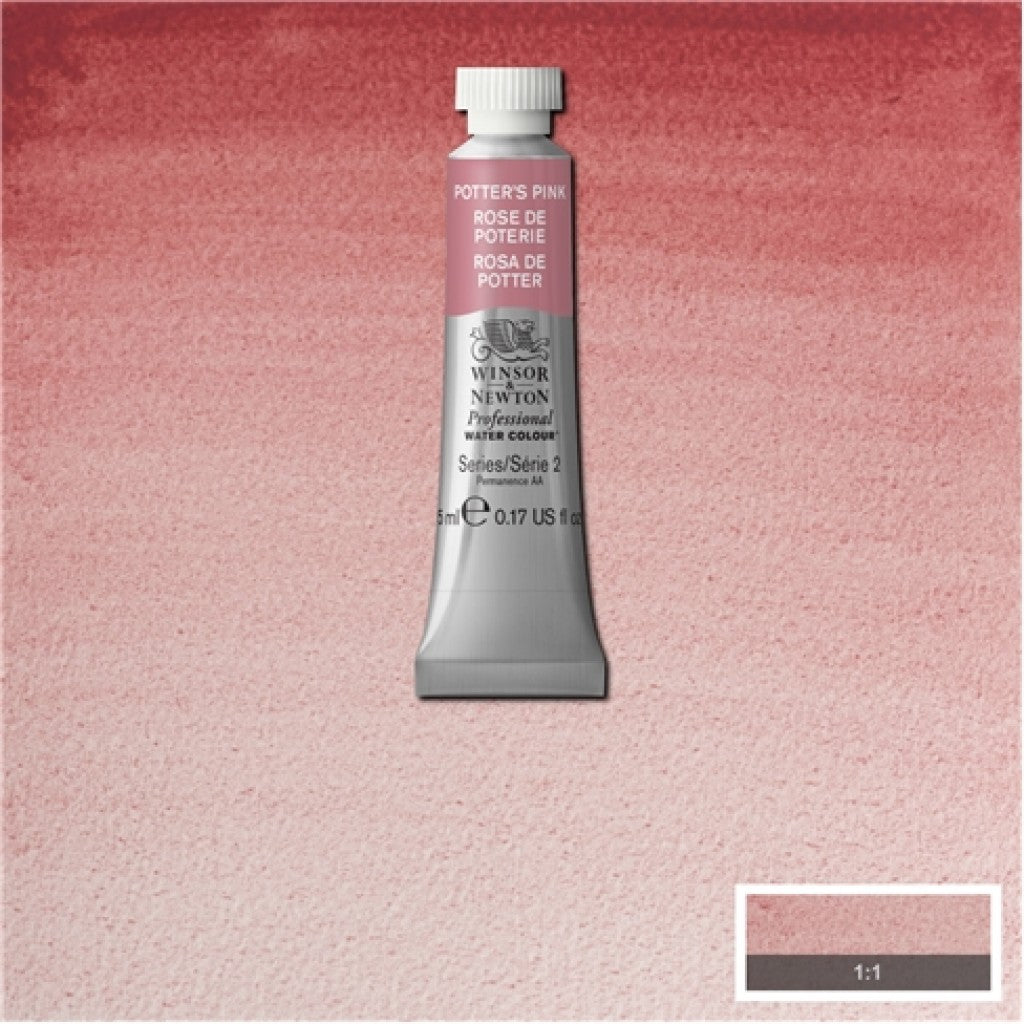 W&N Akvarell Artists 5ml tube - 537 Potters Pink