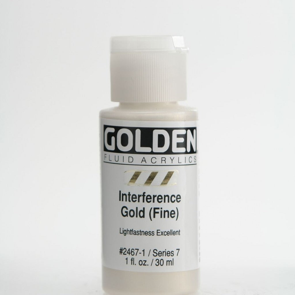 Golden Fluid 30ml - Interference Gold (Fine)