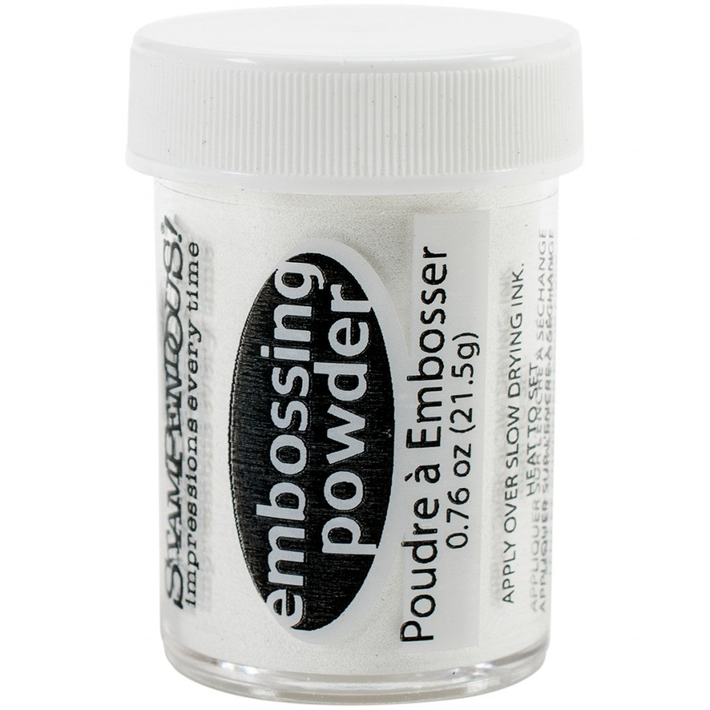 Embossingpulver - Detailed White Opaque 21g