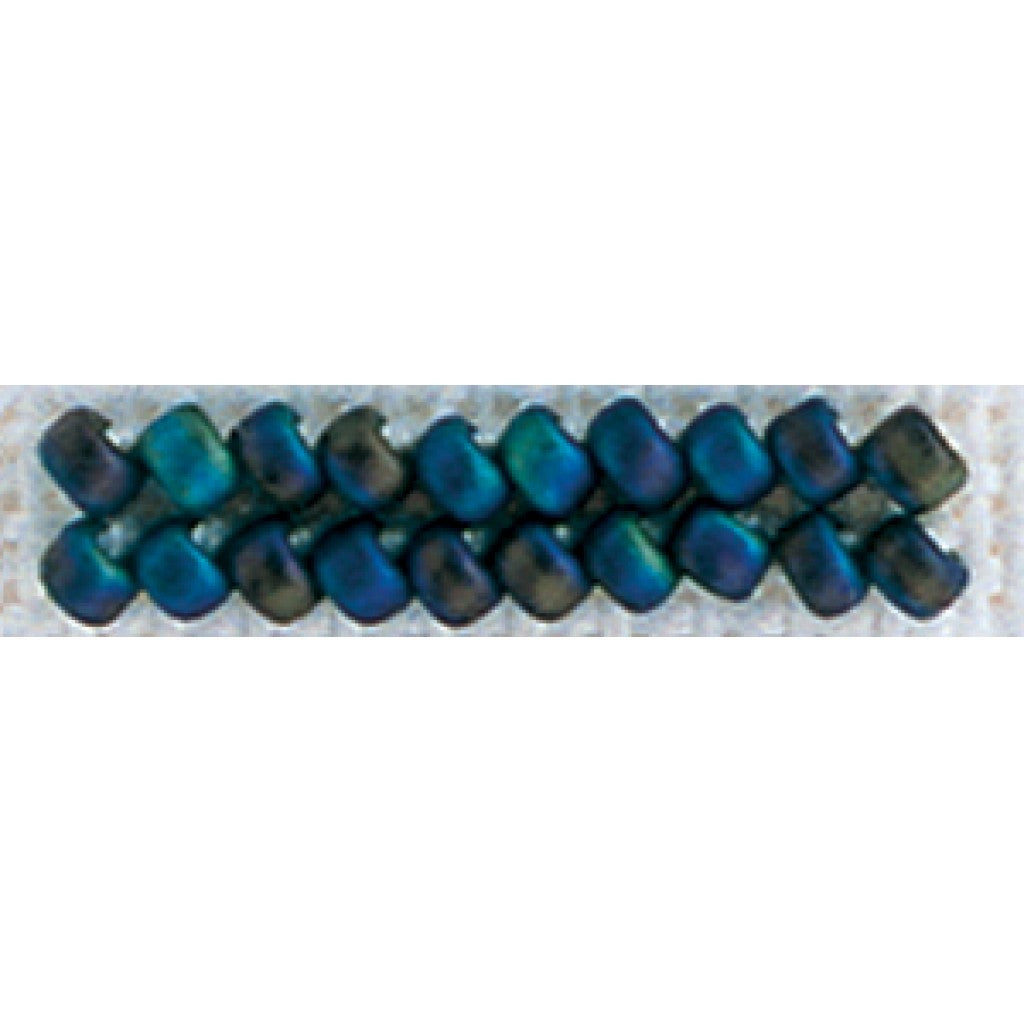 Mill Hill Antique Glass Seed Beads 2.5mm 2.63g-Stormy Blue Heather