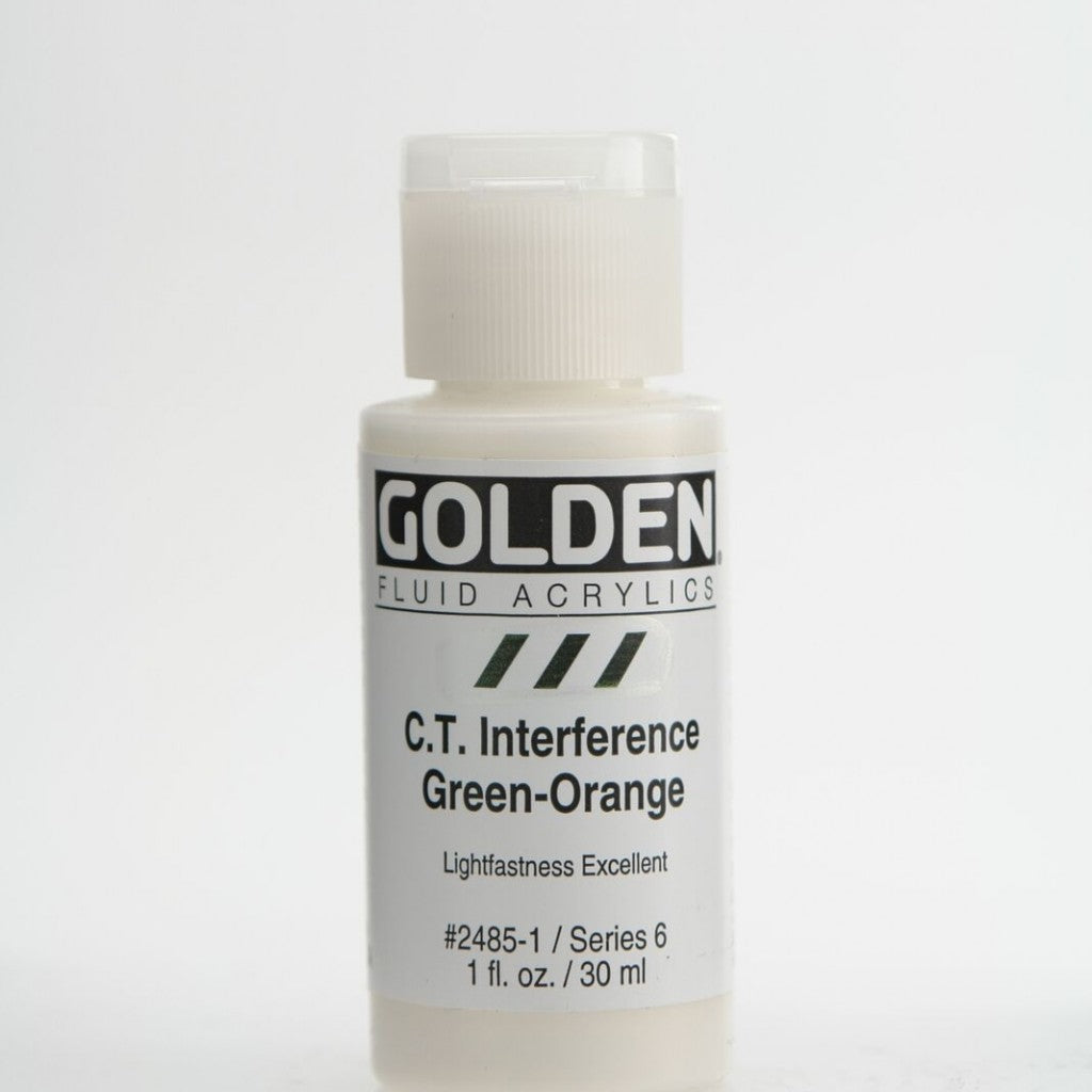 Golden Fluid 30ml - C.T.Interference Green-Orange