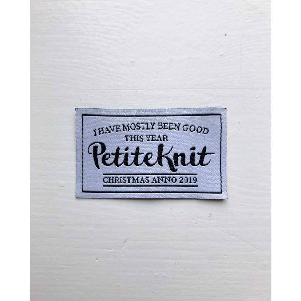 "Symerke PetiteKnit - ""I Have Mostly Been Good This Year"""