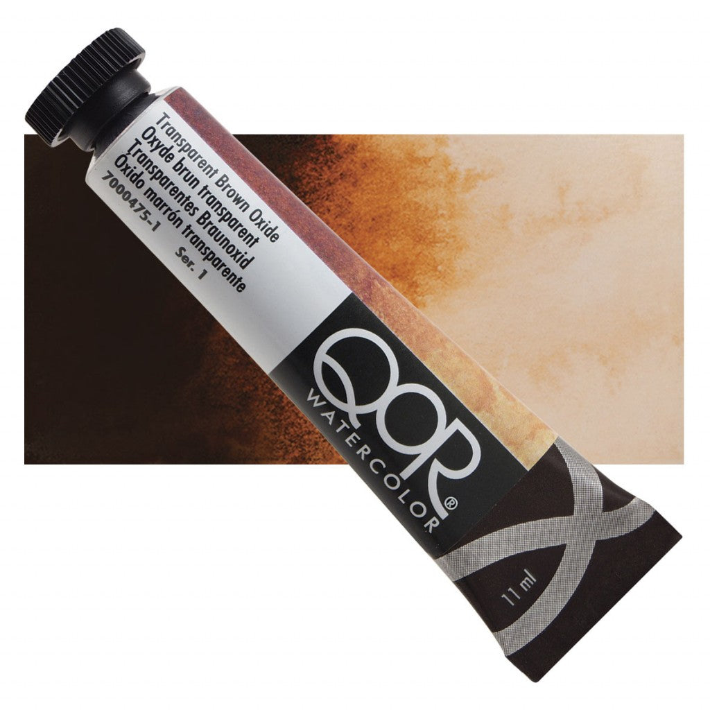 QOR akvarell 11ml Transparent Brown Oxide 04751