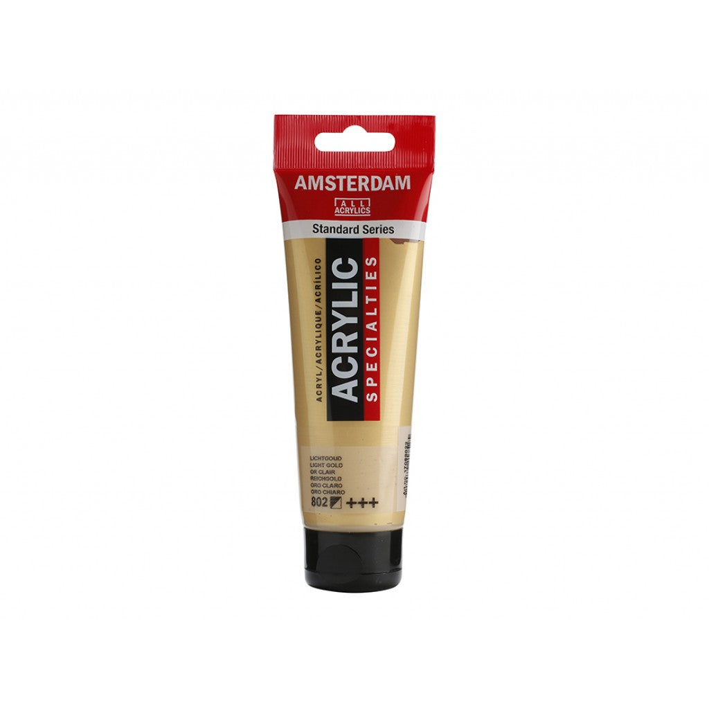 Amsterdam Standard 120ml - 802 Light gold