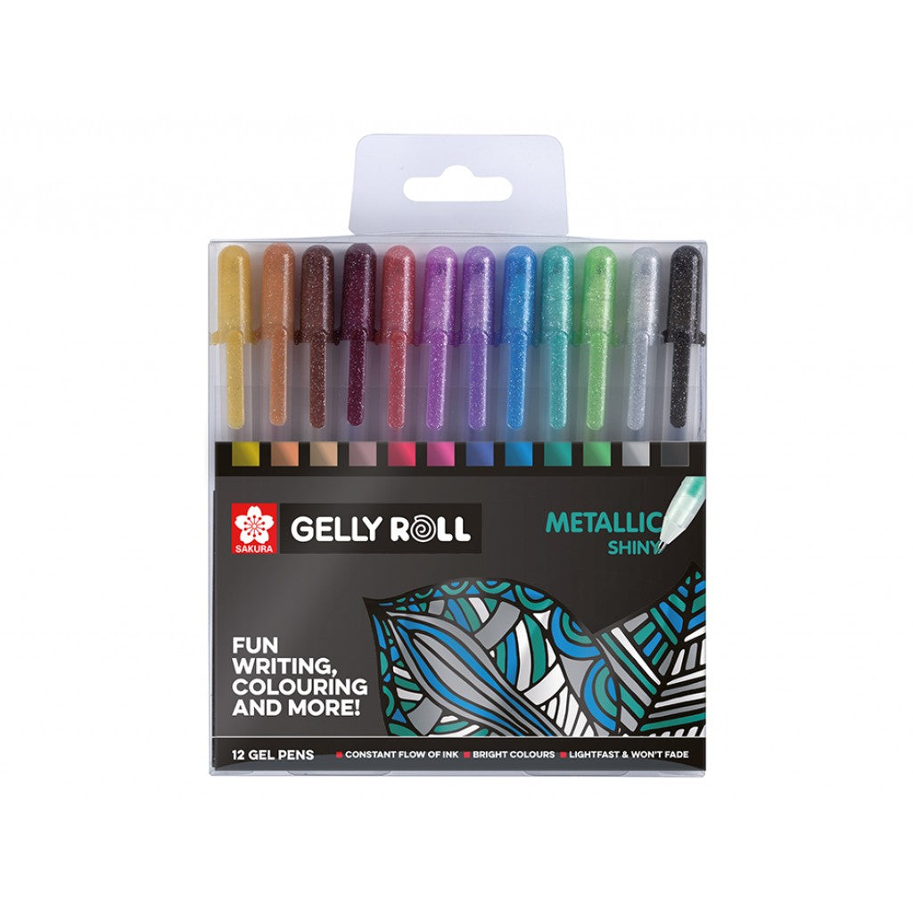 Sakura Gelly Roll - Metallic Set 12stk