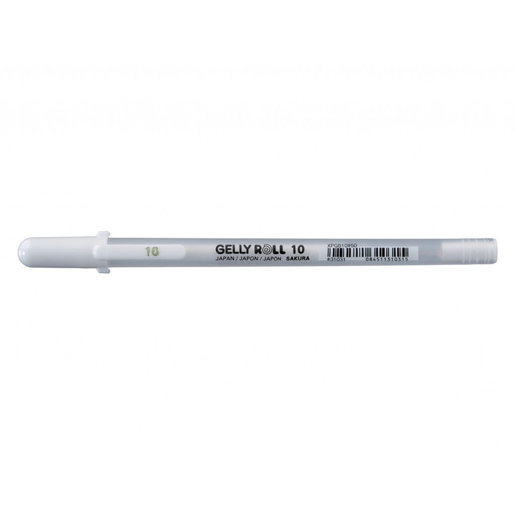 Sakura Gelly Roll Basic - 10 #50 Hvit