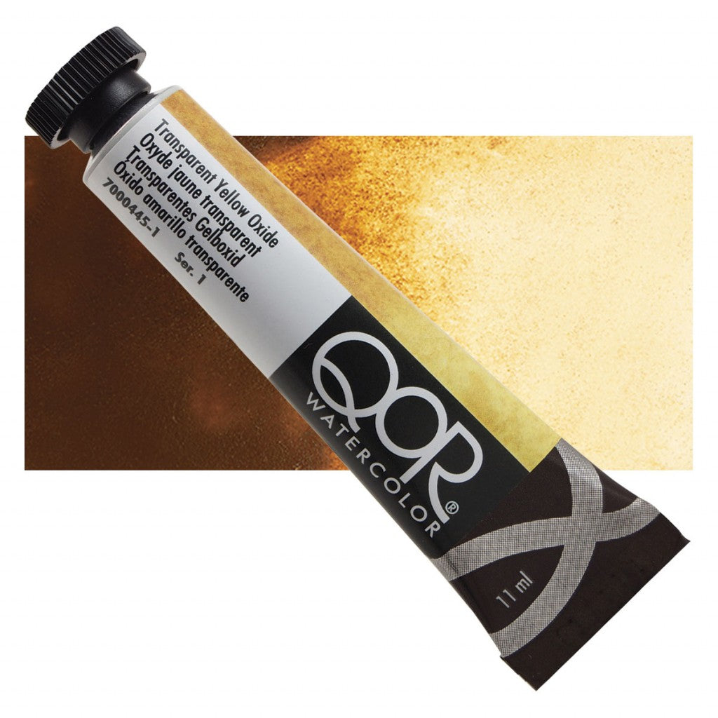 QOR akvarell 11ml Transparent Yellow Oxide 04451