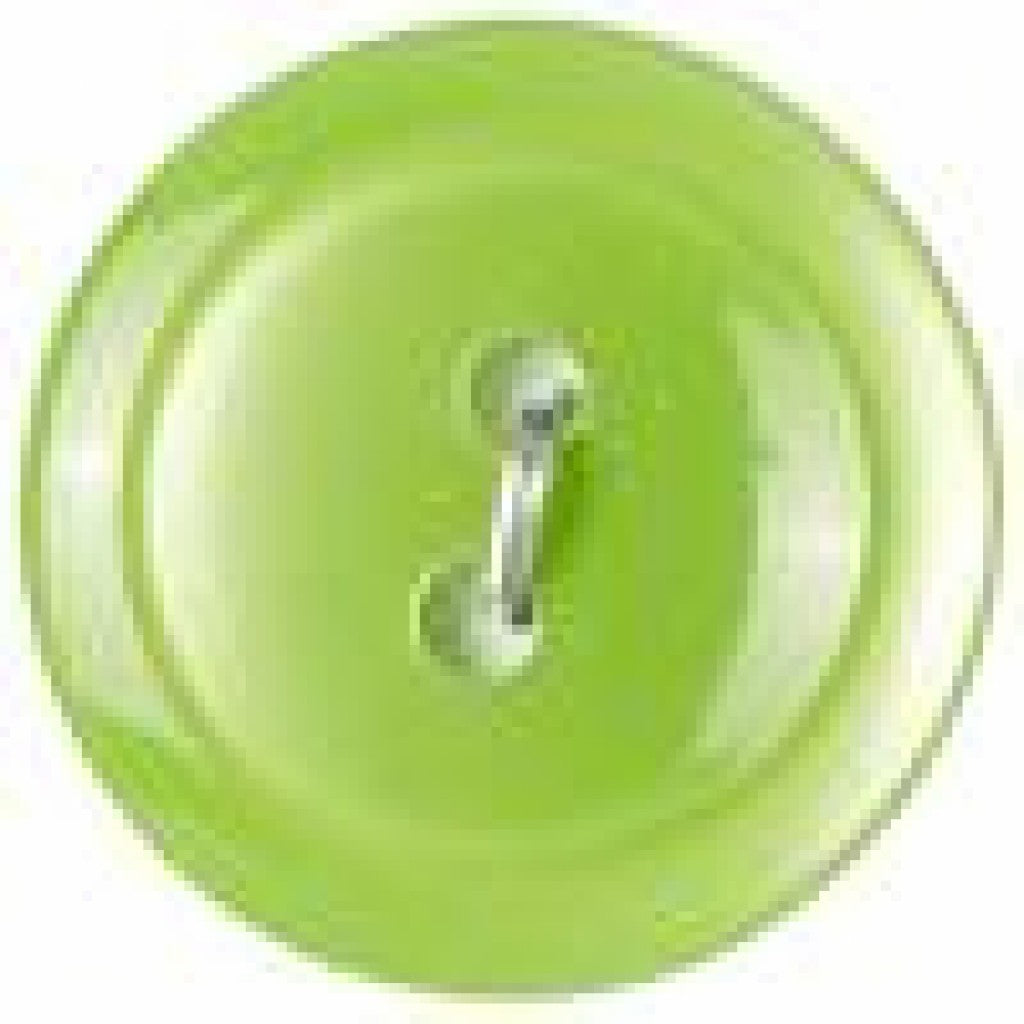 Slimline Knapper 5stk, 19mm - Lime (SL1-53)