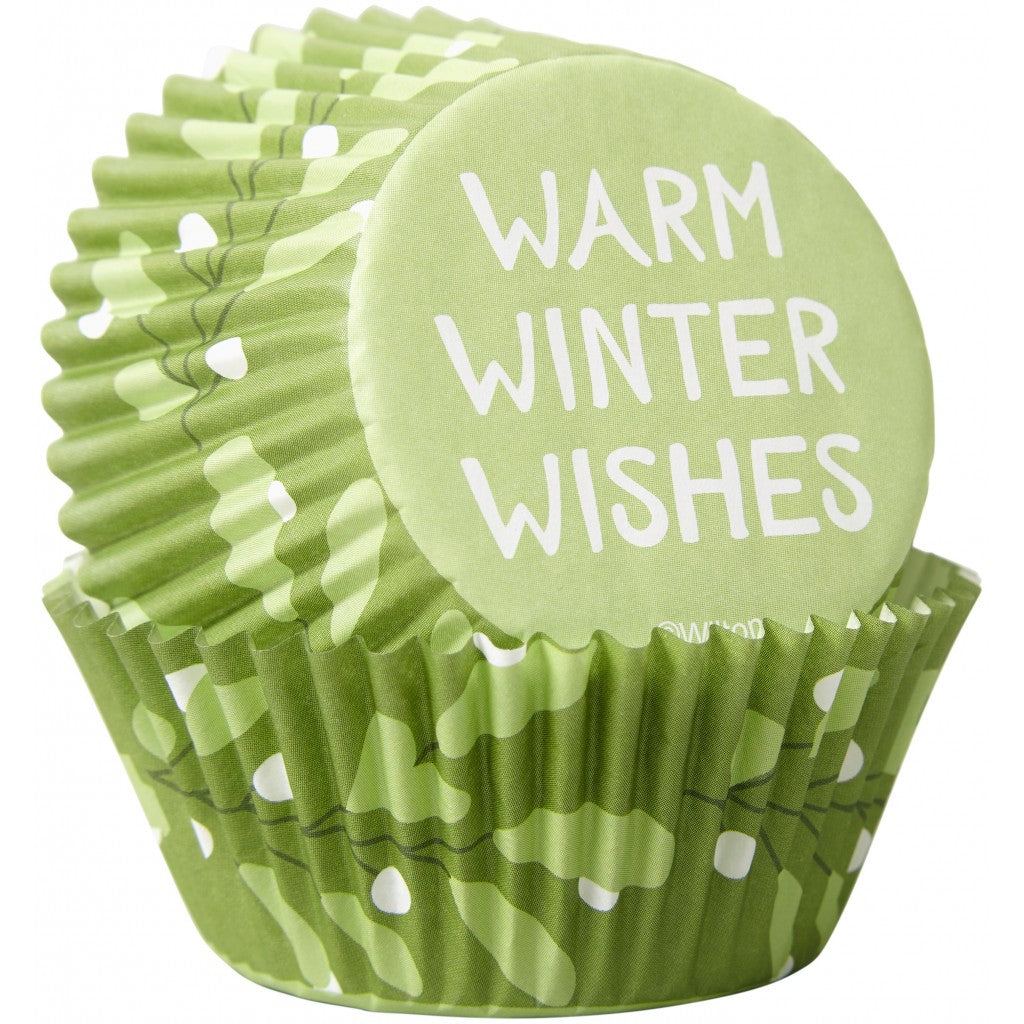 Muffinsformer - Warm Winter Wishes, 75stk